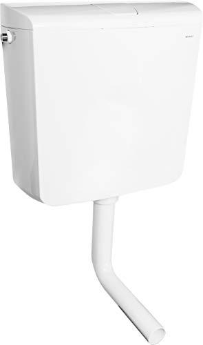 Geberit Spülkasten AP110 Druckspühler tiefhängend Aufputz 41x39cm + Zubehör