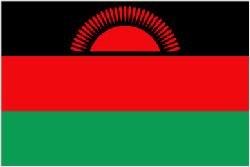 Novelties Direct Flagge: Malawi, Malawian, 5 m x 3 m (100 %poly) mit Öse zum Aufhängen