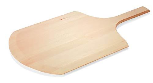 Gastro Spirit Flammkuchenbrett aus Holz Pizzaschaufel Pizzaschieber Gesamtlänge inkl. Stiel 66 cm, Größe XL, in 3 Größen erhältlich
