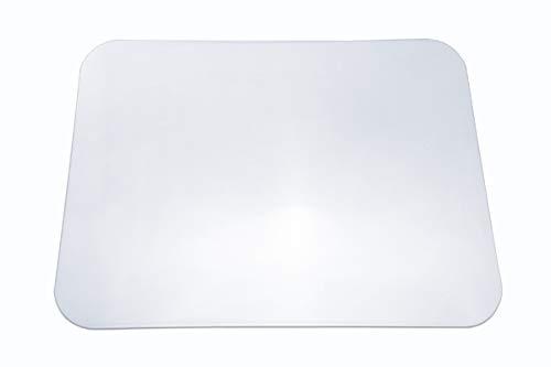 Trend Products Stuttgart Tischmatte CLEAR transparent (50x70 cm) mit glatter Oberfläche und patentierter Haftschicht, aus Makrolon, als klare und durchsichtige Schreibunterlage oder Schutzmatte