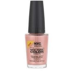 New York Color In A New York Color Minute Quick Dry Nail Polish, Fashion Ave Fuchsia, 0.33 Fluid Ounce by N.Y.C.