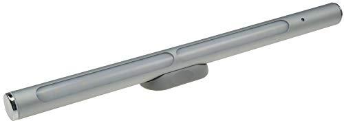 ChiliTec LED Alu Wand Spiegel Leuchte Magnethalter 30cm aufladbar 570 Lumen matte Front (neutralweiß, dimmbar), -
