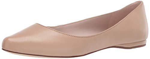 Nine West Speakup Damen Ballerinas aus Segeltuch, Beige (Hell/naturfarben), 7.5 M EU (West Wohnungen Nine Schuhe Damen)