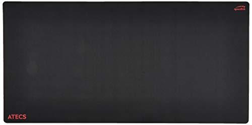 Speedlink ATECS Soft Gaming Mousepad - Size XXL - Tappetino per Mouse da Gioco (50x40cm, Adatto per Tutti i Mouse con sensore Ottico o Laser) Nero