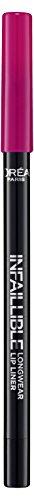 L'Oréal Paris Infaillible Lipliner 103 Fuchsia Wars, 3er Pack (3 x 1 Stück)