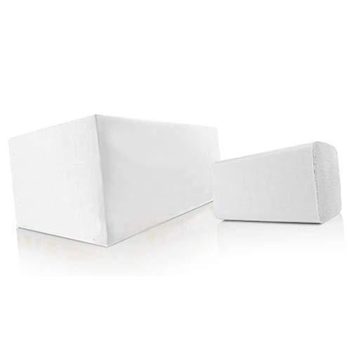 Papierhandtücher comfort weiss, Zick-Zack, 3200 Blatt - Falthandtücher Handtuchpapier Einmalhandtücher Einweghandtücher