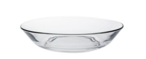 Duralex 3015AF06LYS-Juego de 6Platos de Cristal Transparente 17,5cm