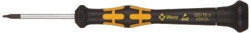 Wera 05030121001 1567 ESD TORX Kraftform Micro Schraubendreher, TX 5 x 40 mm, 5