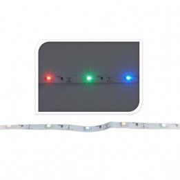 LED Stripe Stripes bunt mehrfarbig mit 30 LED batteriebetrieben 100 cm