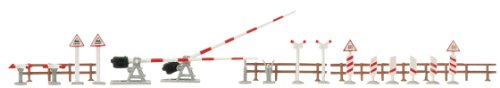 Hornby France - Busch - 6020 - Circuit - Train - Kit passage a niveau