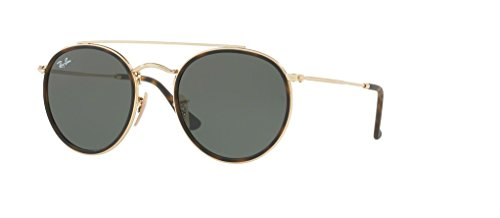 Ray-Ban RB3647N 001 51M Gold/Green