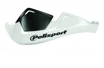Polisport Evolution Integral Guardamanos para motocicletas, color blanco