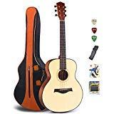 Gitarre Feixiang Rechtshänder Gitarre mit einem Gigbag und Gurt ()