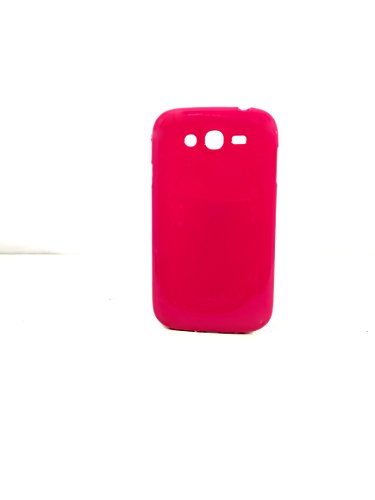 iCandy™ Colourful Thin Soft TPU Back Cover For Samsung Galaxy Grand S9082 / Grand Neo S9060 / Grand Neo Plus S9060i - Raspberry  available at amazon for Rs.170