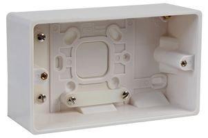 SURFACE BOX 2 GANG 50MM 878 By BG
