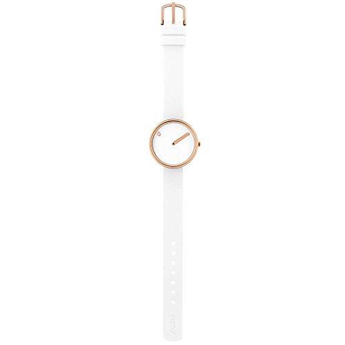 Rosendahl Unisex Reloj de pulsera Picto analógico de cuarzo caucho 1010398310