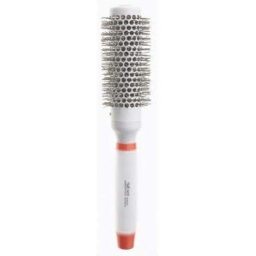 SIBEL 'SILICON GEL' Handle Ceramic Heat Retaining Hair Brush 33mm 8483332 by Sibel - Ceramic Ionic Thermal Brush