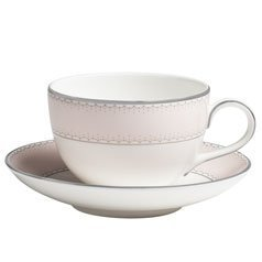Dentelle Blush 7.4 oz. Teacup by Waterford -
