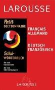 Petit Dictionnaire français/allemand par Larousse