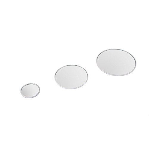 sourcingmap® Auto Fahrzeug Runde konvex Weitwinkel Rückansicht Blind Spot Spiegel 3 in 1
