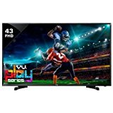 Best 4k Led Tvs - VU Technologies LED TV 43BU113 4k Ultra, 109cm(43-inches) Review