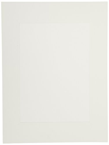 Sax Budget Lot de 25 tapis avec dos Blanc 22,9 x 30,5 cm