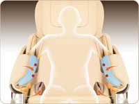 Maxxus High End Massagesessel Mx 200 Mit 3d Massage Und Zero Wall Funktion Besonders Intensive Massageprogramme