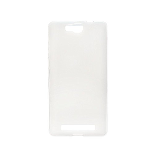 Satin silikon gehäuse für Cubot H2 - Weiß