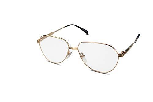 WOLFGANG PROKSCH Unisex Titan Brillenfassung WP-1121 YGD Gold (57-14)
