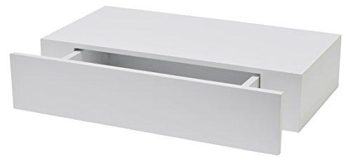 Duraline 1113283 XL10 - Estante con Cajon, Blanco Lacado, 100 mm x...