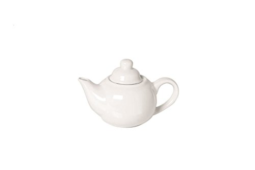 Teiera porcellana bianco lt.0,3