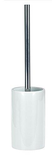 Kleine Wolke 5084114856 WC-Bürstenhalter Pur Shiny, Bad-Accessoires, schneeweiß