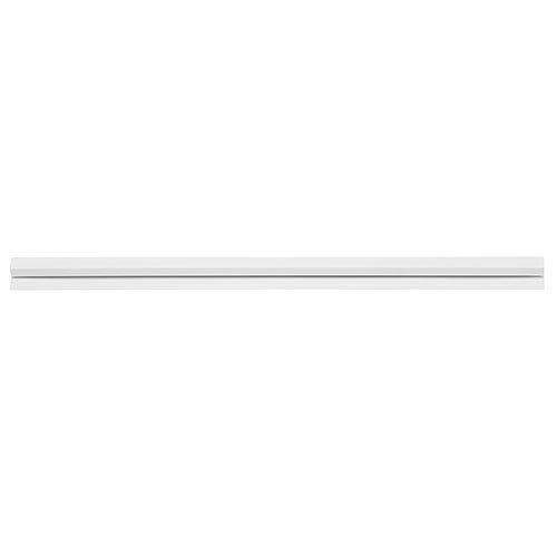 Klemmleiste Bonschine 100 cm Kunststoff weiß