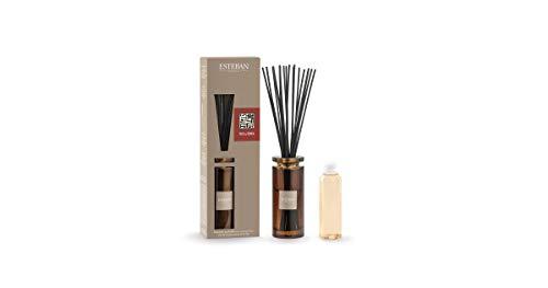 ESTEBAN Vaso diffusore profumo casa TECK & TONKA 75ml a bacchette con vaso vetro