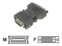Adapter DVI-D -> DFP DVI-D Bu->HPC20 St, sw