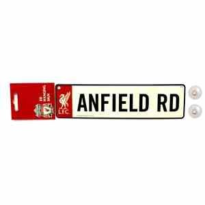 Liverpool LFC Football Hanging Window Anfield Road Metal Street Sign L4 Official