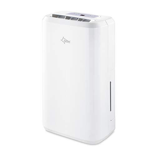 SUNTEC Luftentfeuchter DryFix 10 Pure [Für 80 m³ (~34 m²), 10 l/Tag, mit ökologischem R290, inkl. Wäschetrocknung, 280 W]