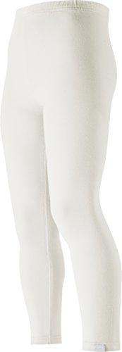 Playshoes Mädchen Legging verschiedene Farben, Oeko-Tex Standard 100, Gr. 92, Weiß (weiß 1)