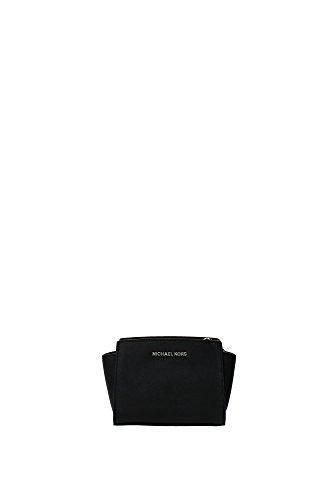 MICHAEL KORS Borsa Mini Messenger Selma Nero Art 32H3SLMC1L 001-47 BLACK A16