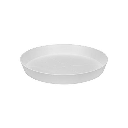 Elho loft urban untersetzer, rund, 21 cm, weiß, 20.9 x 20.9 x 2.9 cm