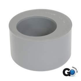 tampon de réduction - mâle / femelle - simple - diamètre 80 / 50 mm - nicoll r5