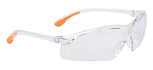 Portwest PW15CLR Series PW15 Fossa Brille, Regular, transparent
