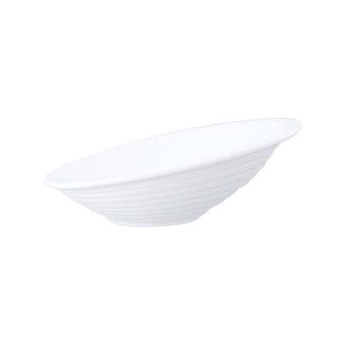 Mirage h2215-w Dune Buffet Schüssel, 28cm, weiß