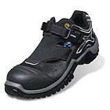 Uvex Sicherheitsschuhe Xenova NRJ Sandale 6911 S1 42 Schwarz/Grau