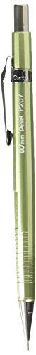 Pentel P207Sharp mech Bleistift 0,7mm met. celdn - Hi-polymer Eraser Caps