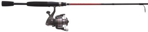 QUANTUM Optix Spinning Combo Optix Angelrolle mit 6 '6 Light 2 Stück Rod von Quantum -