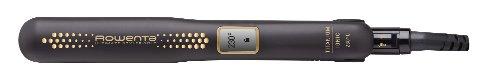 Rowenta Ultimate Styler Gold SF6021E0 - Keramikbeschichtungsglätter, 2-in-1-Funktion zum Richten und perfekte Locken mit schwimmenden und schmalen Platten, inklusive Thermoprotektor