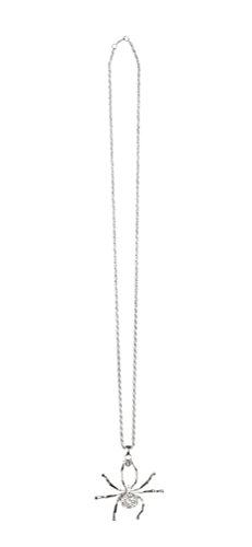 alskette Spinne Spinnen-halskette Halloween (Spinne Halskette Für Halloween)