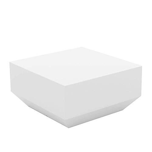 Vondom Vela Table Basse pour l'extérieur Blanche