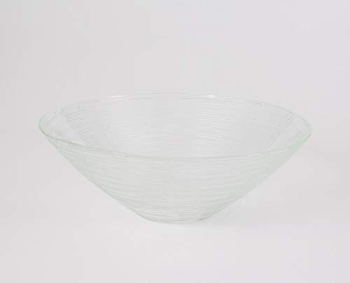 Coupelle ronde en verre LINUS, transparent, 7 cm, Ø 20 cm - Coupelle apéritif / Coupelle décorative - INNA Glas